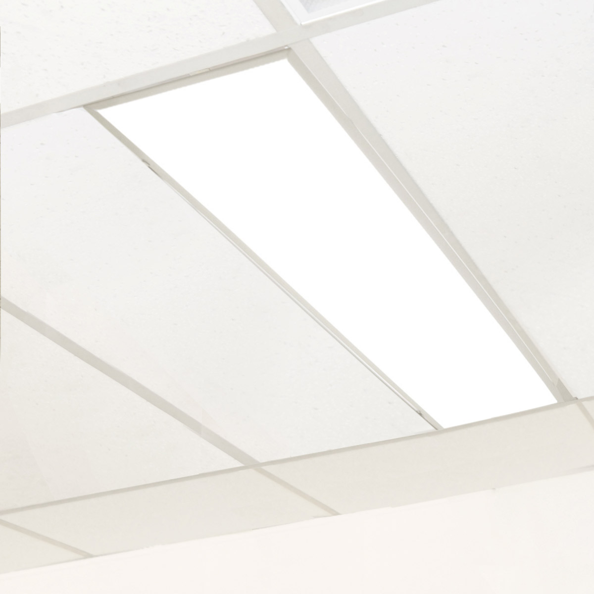 Claris LED Retrofit Kit Installed in 2x4 Fixture